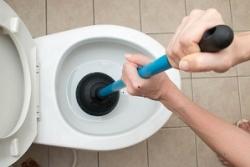 comment déboucher des toilettes avec une ventouse