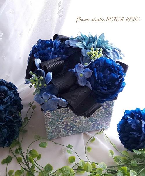 フラワーティッシュケース認定講師flower studio SONIA ROSE