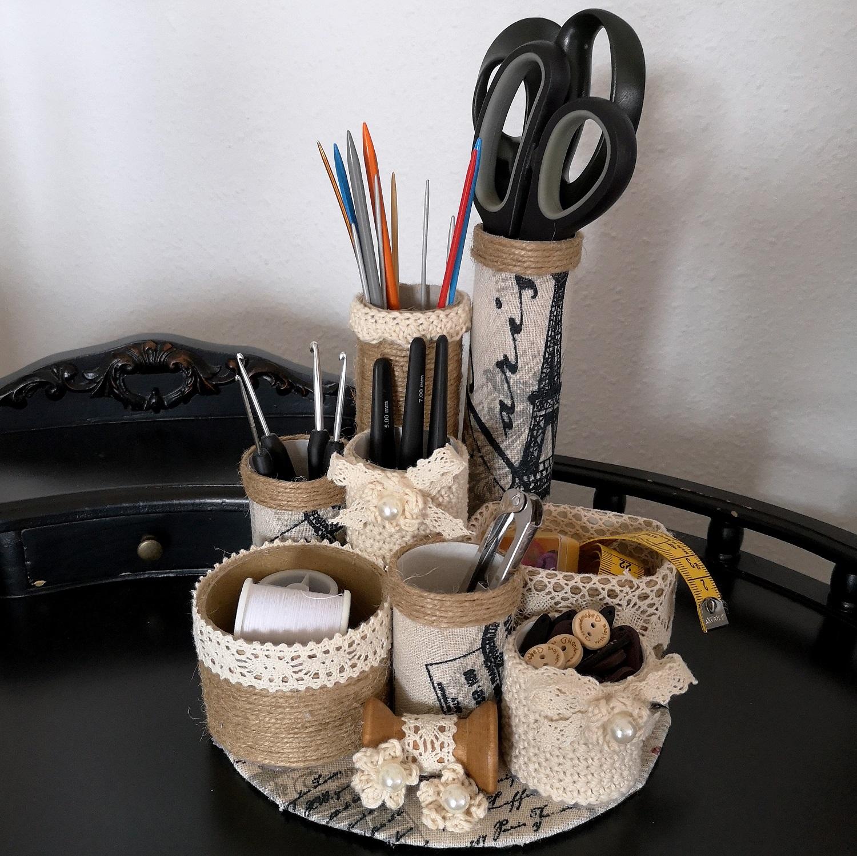 Eine Vintage Organizer DIY Idee