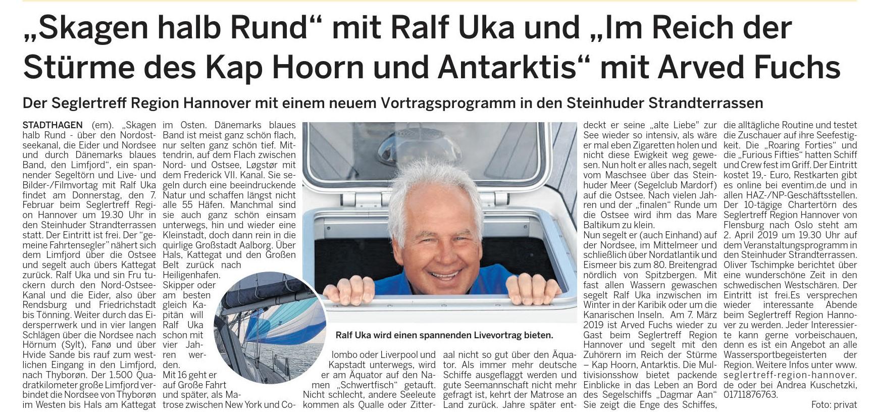 Wunstorfer Stadtanzeiger, 17.01.2019