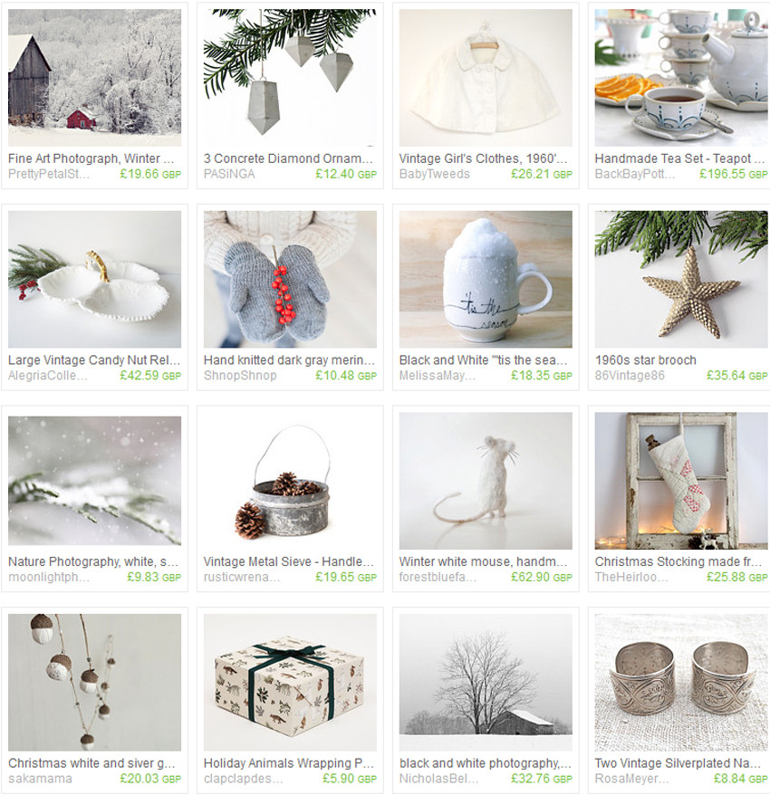 Etsy Treasury Collection 'tis the season' by Gazaboo