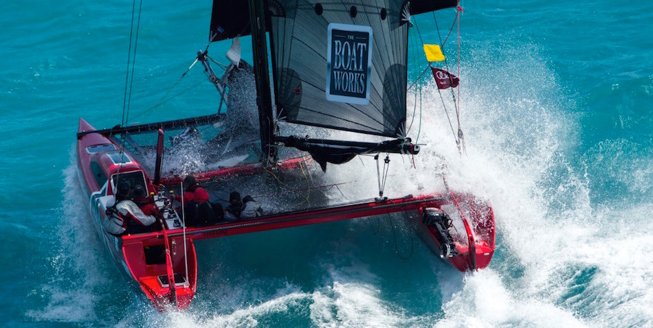 The Boats Works racing at Hamilton Island Race Week 2015