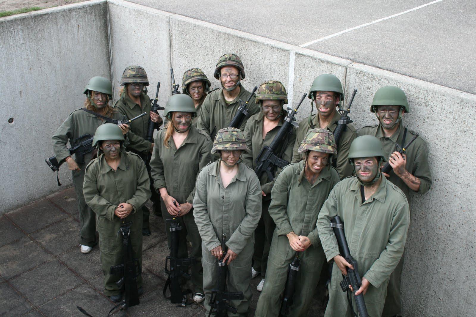 Bootcamp  met de Luchtmobiele Brigade | ©EuroCollege