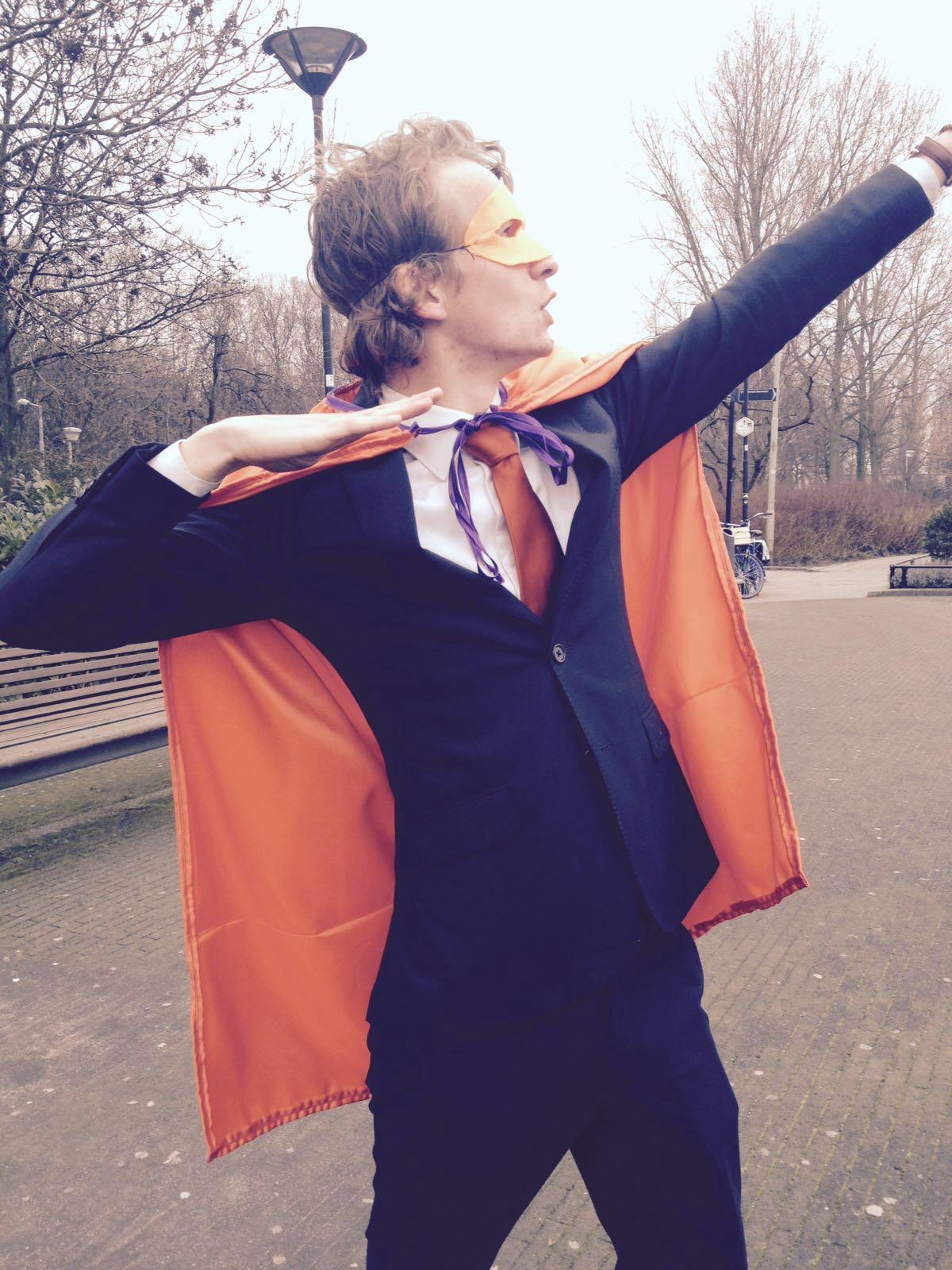Superheldenactie t.b.v. Charity Diner KiKa en Make-a-Wish | © EuroCollege