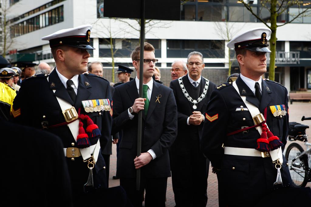 4 mei Dodenherdenking Rotterdam | © EuroCollege