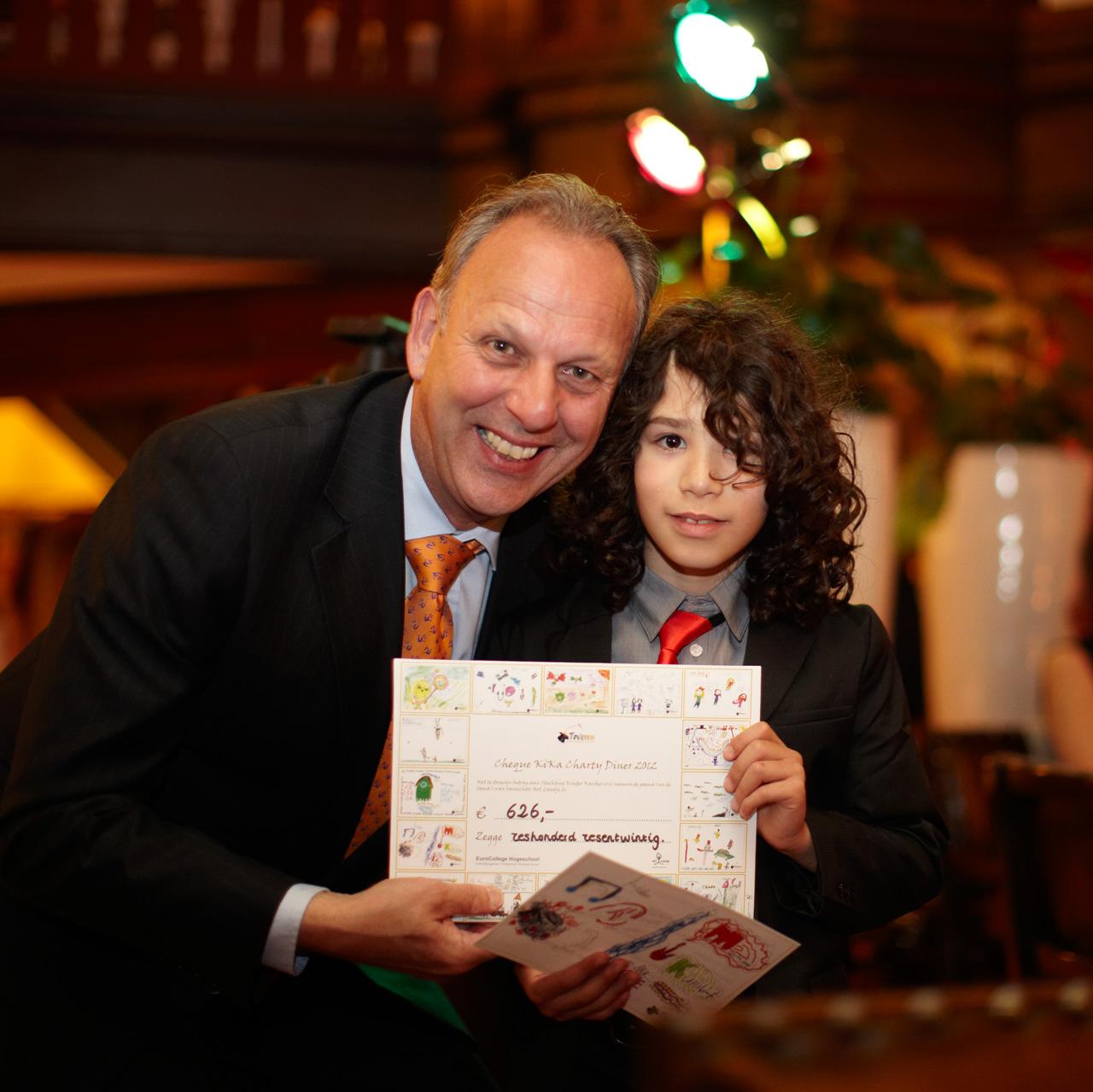 Actie kinderen OBS Landje t.b.v. KiKa | © EuroCollege