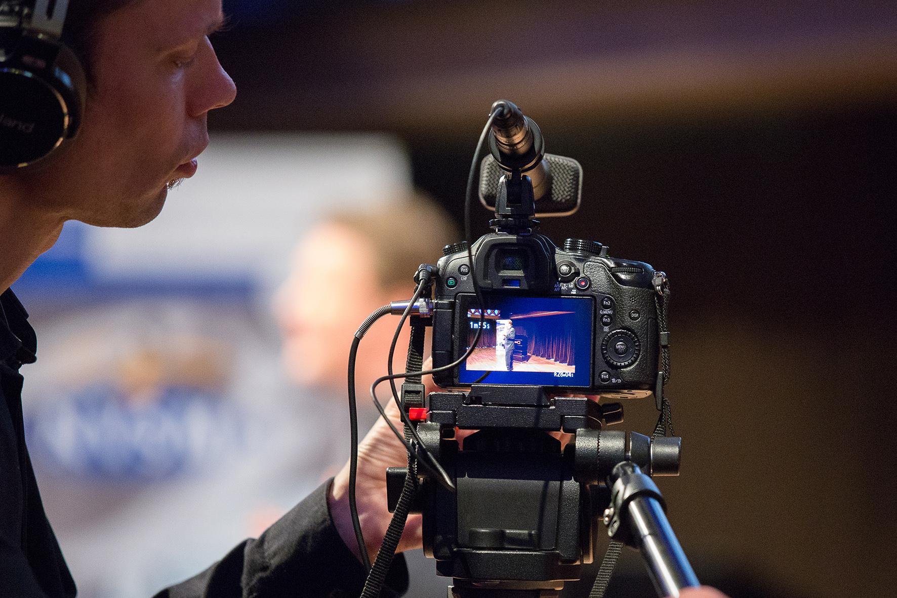 Opnames tijdens NVSM Congres 2016 | © NVSM