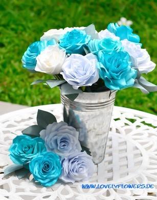 www.lovelyflowers.de - Dein Spezialist für PAPER-ART-Blumen-Akzentdekorationen!