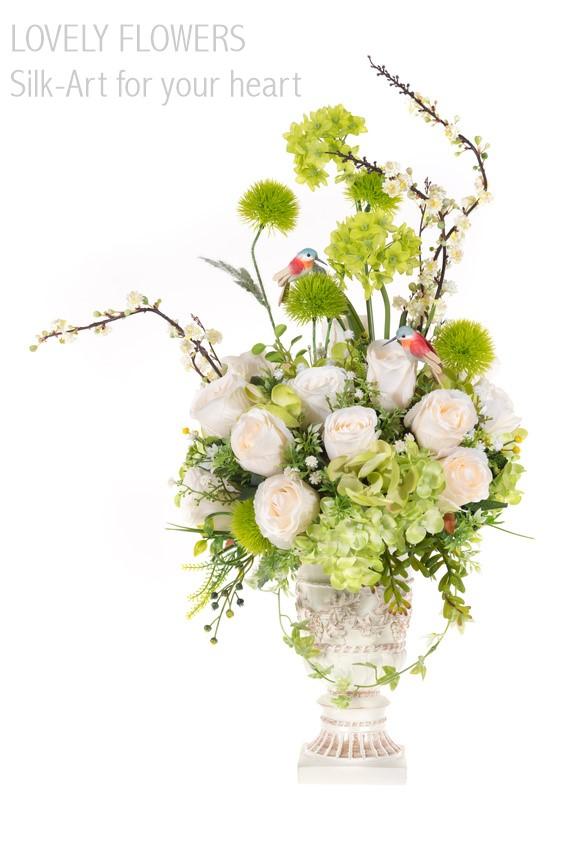 www.lovelyflowers.de - Dein Spezialist für Seidenblumen Eventdekoration