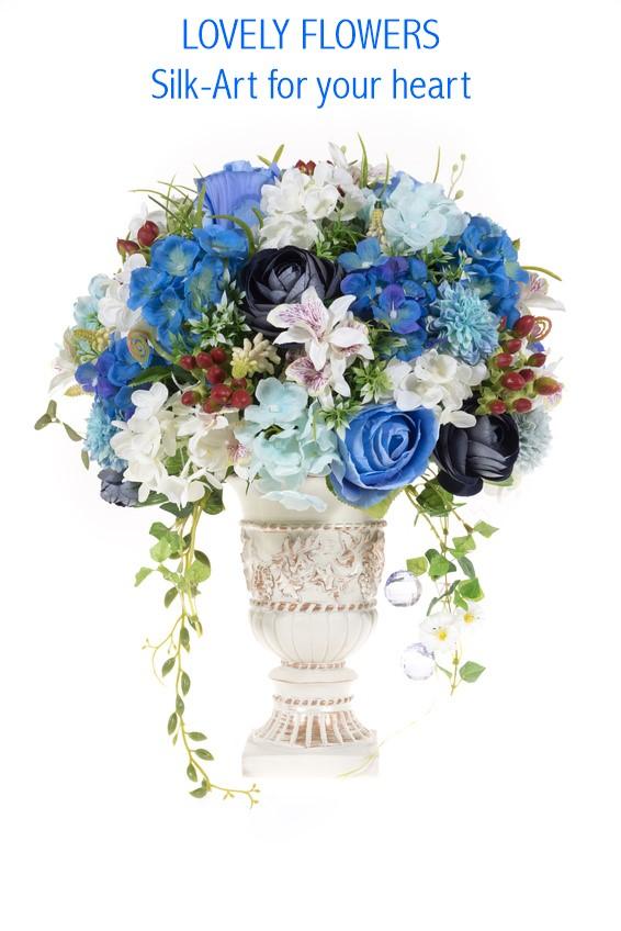www.lovelyflowers.de - Dein Spezialist für imposante Seidenblumen-Großbouquets