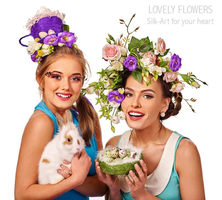 www.lovelyflowers.de gibt Fotoshootings den Seidenblumen-Kick:-)