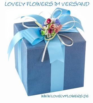 Beste Versandkonditionen bei www.lovelyflowers.de!