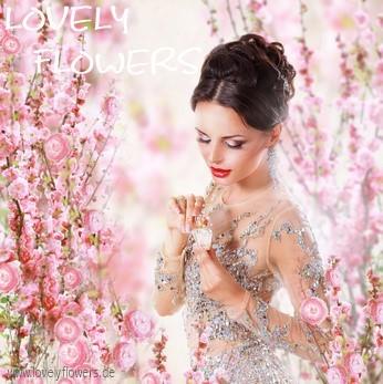www.lovelyflowers.de - Dein Spezialist für blumige PAPER-ART romantische Werbefotografie!