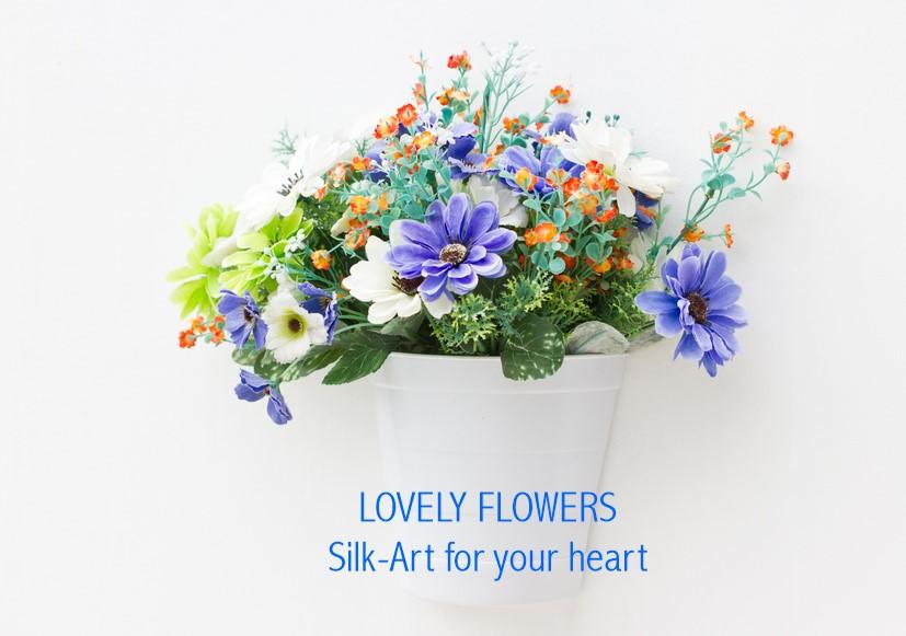 www.lovelyflowers.de - Dein Spezialist für Seidenblumen-Gutelaunedeko