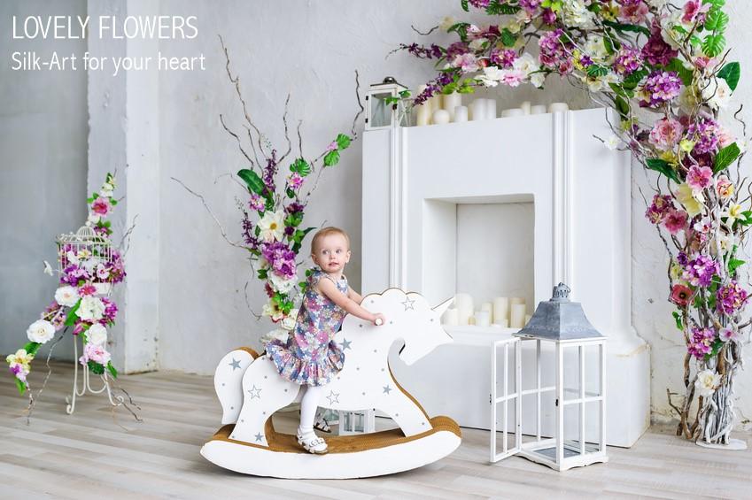 www.lovelyflowers.de seidenverzaubert kleine Models:-)