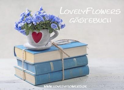 Das interessante Gästebuch von www.lovelyflowers.de!