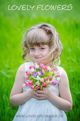 www.lovelyflowers.de - Dein Spezialist für blumige PAPER-ART Muttertagsgeschenke!