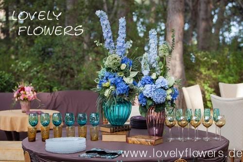 www.lovelyflowers.de - Dein Spezialist für PAPER-ART-Blumen Festtafel-Dekorationen!