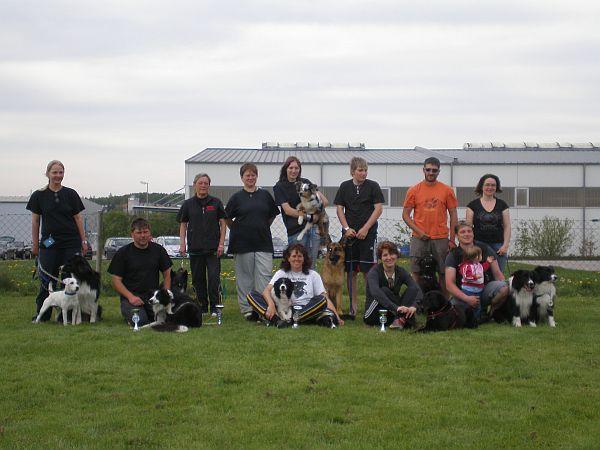 25.+26.04. Agility-Turnier bei den Hundefreunden Eggenfelden