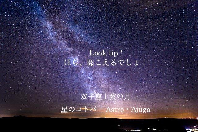 『双子座上弦の月』2月20日「アジュガの星のコトバ」