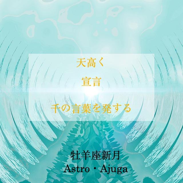 『牡羊座新月』4月12日「アジュガの星のコトバ」