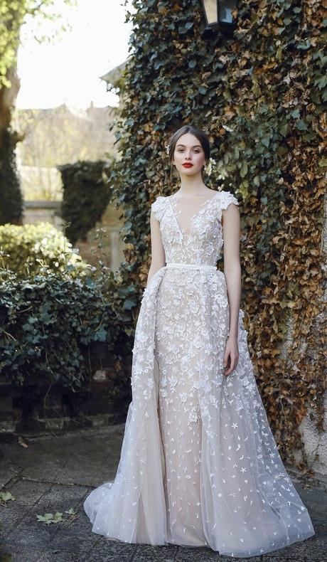 Kleid mit abknöpfbaren Oberrock von Ange Etoiles, Preis 2000 EUR