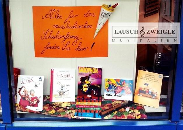 Notenhefte, Instrumentalschulen und Spielhefte  bei Lausch & Zweigle... ganzjährig verfügbar!