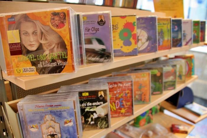 Musik und Musikhörspiele für Kinder auf CD