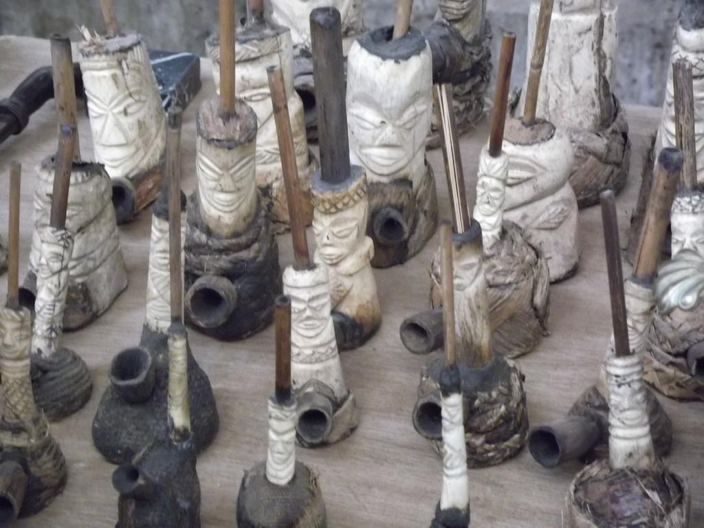 Pfeifen aus Afrika