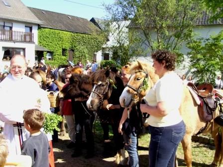 Pferdesegnung in Oberöffling