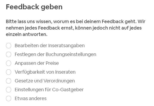 Feedback? Feedback!