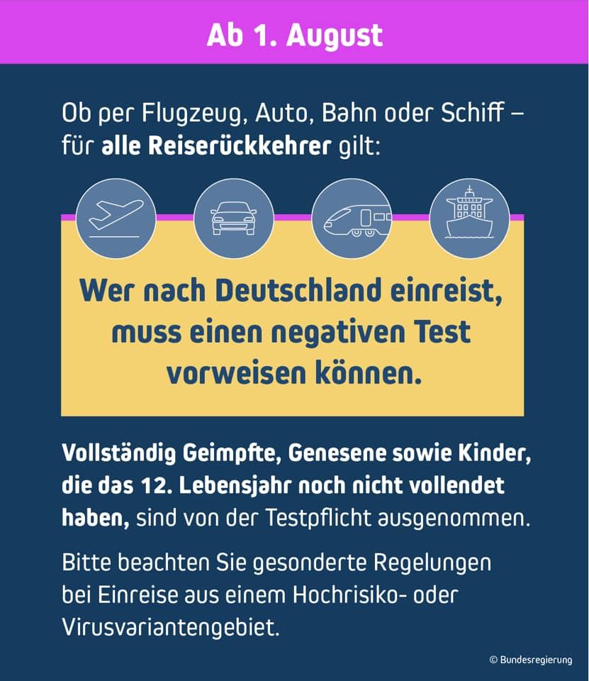 Strengere Einreiseregeln in Deutschland