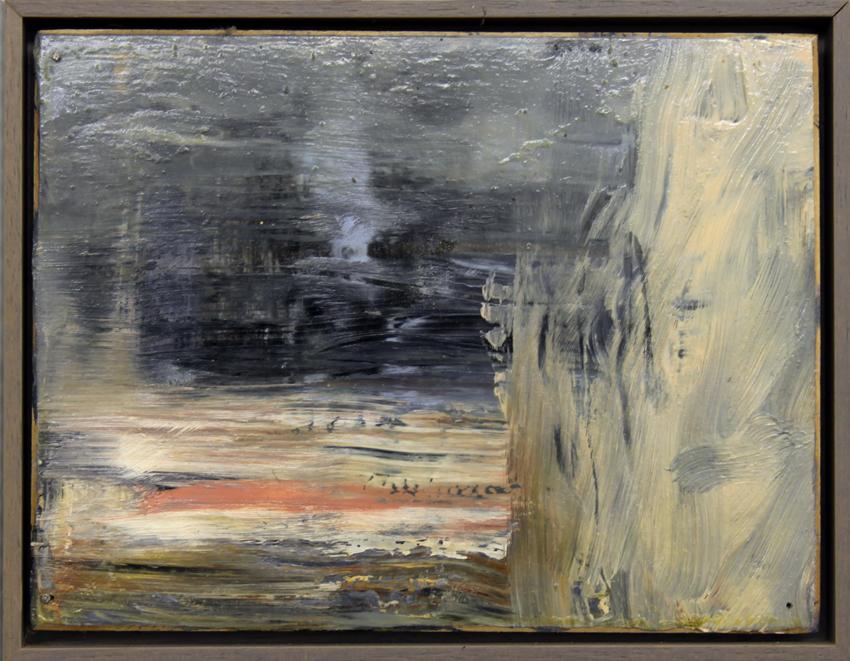 """Martin Schnur  """"o.T.""""   Öl auf Karton 15 x 20 cm Jahr: 2002"""