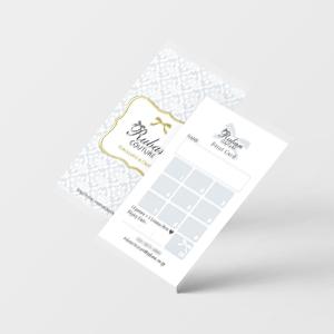 オリジナルポイントカードデザイン印刷50枚から