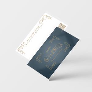 ショップカードオーダーデザイン印刷