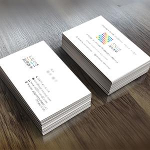 オリジナル名刺幼児教室100枚からデザイン印刷小口ロット