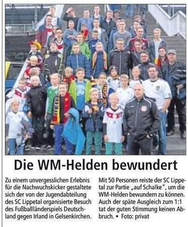 Bericht Soester Anzeiger v. 17.10.2014