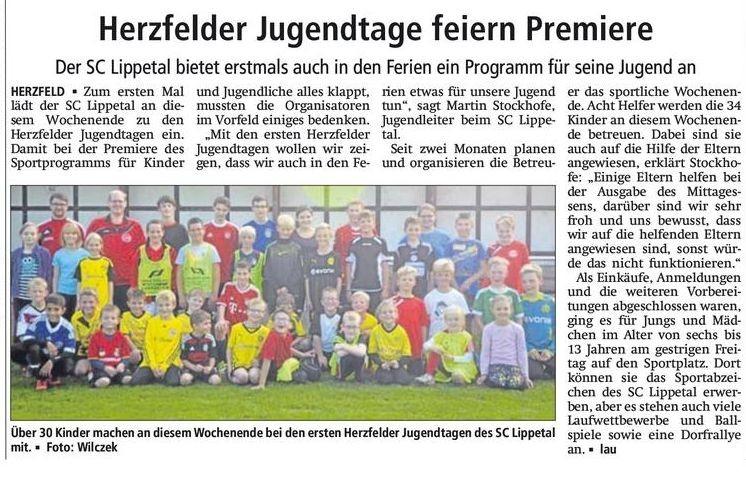 Bericht Soester Anzeiger v. 11.10.2014