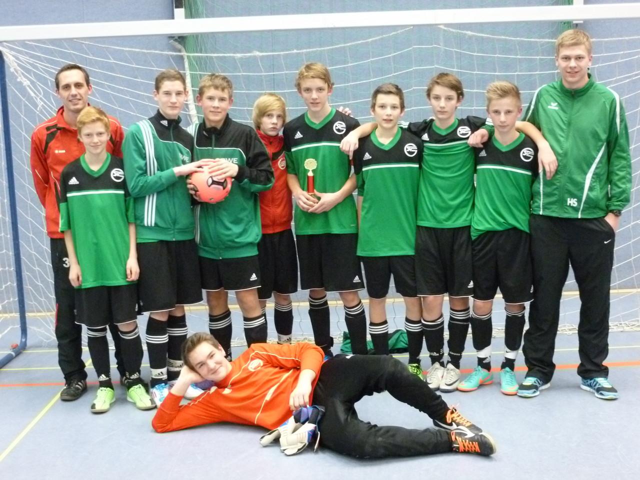 Sieger C-Jugend Germania Hovestadt