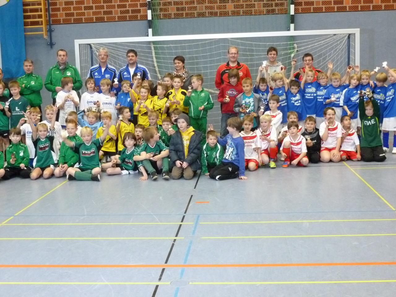 Teilnehmer F-Jugend