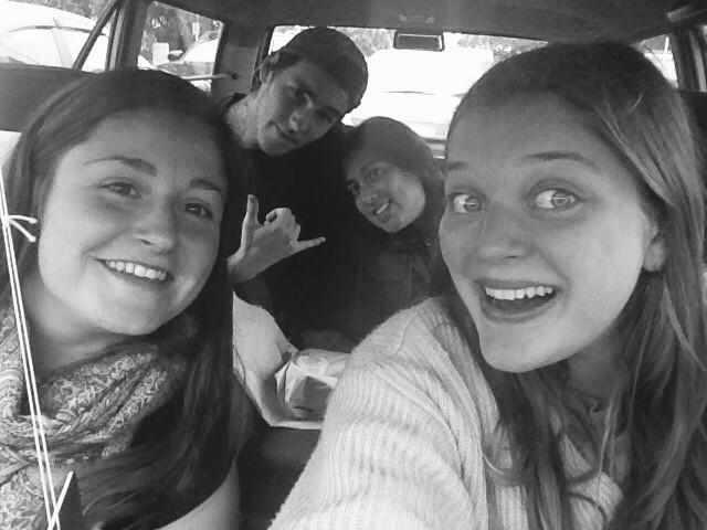 Chloés erste Fahrt in NZ!