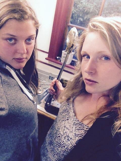 Abschiedsbild Maja & Ich rocken die Küche