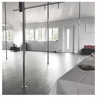 Studios de pole dance Rodez et Mende