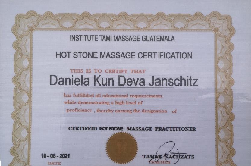 Hot Stone Massage Practitioner