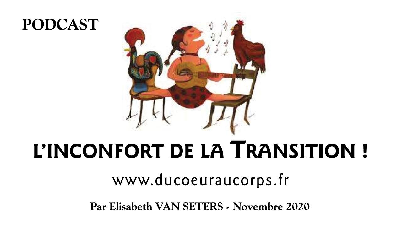 L'inconfort de la Transition ! Nov 2020