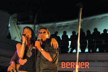 © Carmen Weder, Fotografie, Bern - Bernerbär - Polo Hofer, Sandee, Rock & Blues Cruise