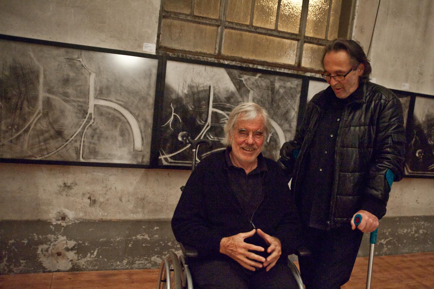 Schang Hutter und Roland Adatte - © Art of Moment, Carmen Weder, Fotografie, Bern, Schweiz
