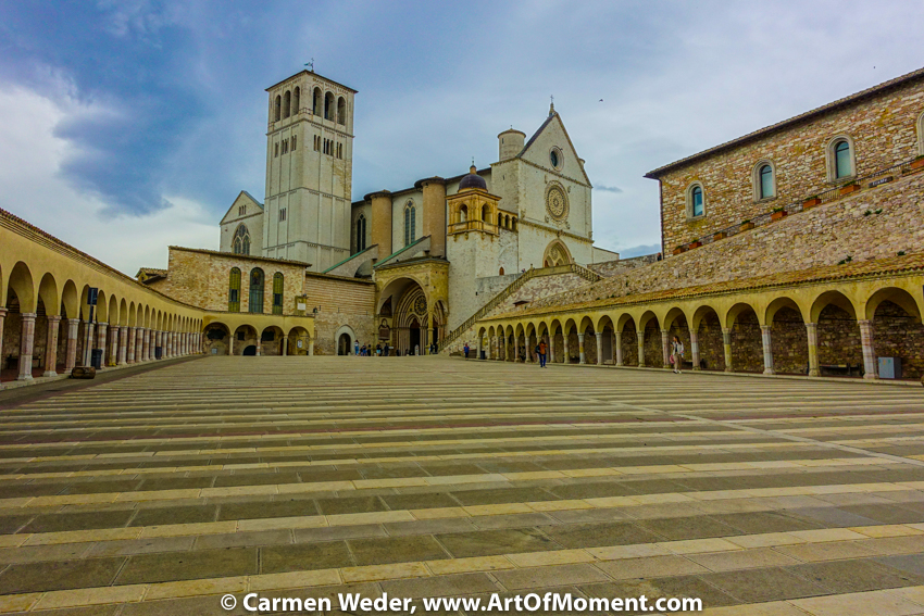 Basilika San Francesco, Assisi, Italien, © Carmen Weder