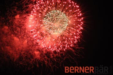 © Art of Moment, Carmen Weder, Fotografie, Bern - Bernerbär - Feuerwerk