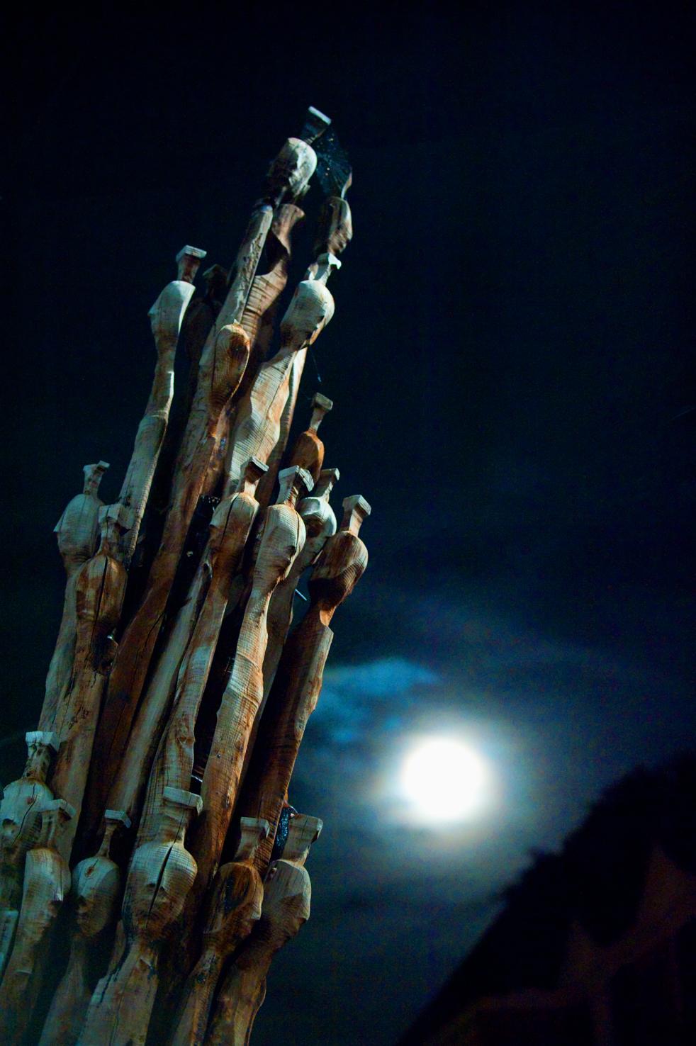 Vollmond Schang Hutter, Skulptur - © Art of Moment, Carmen Weder, Fotografie, Bern, Schweiz